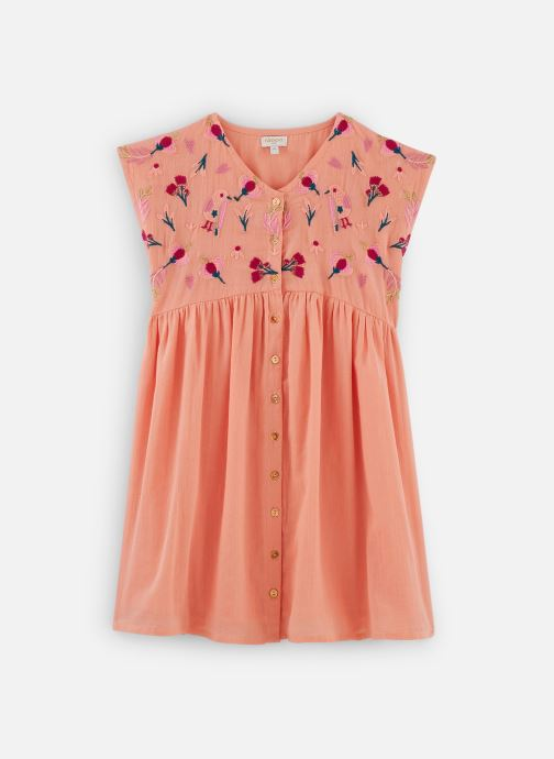 Vêtements Moon Paris Dress Gaia Orange vue détail/paire