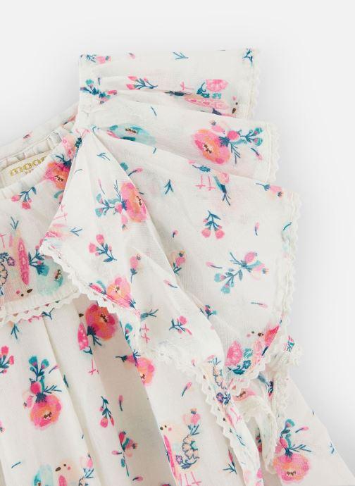 Vêtements Moon Paris Dress Joy Blanc vue portées chaussures