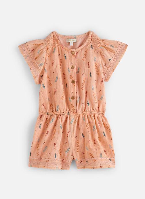 Vêtements Moon Paris Jumpsuit penny Orange vue détail/paire