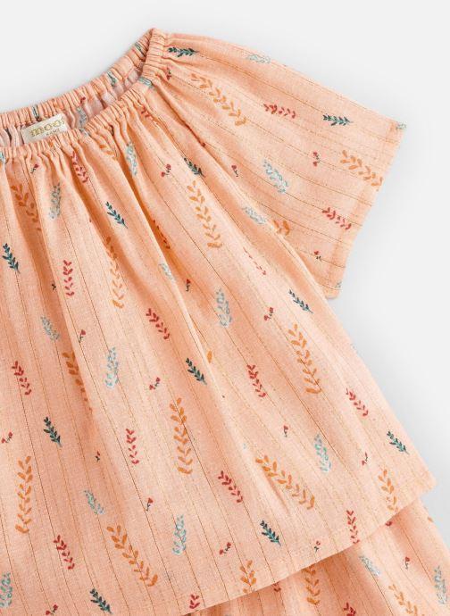 Vêtements Moon Paris Pyjamas fanny Orange vue portées chaussures