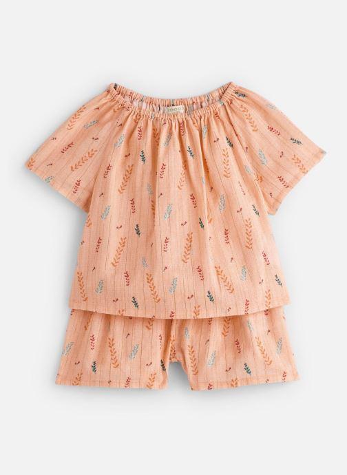 Vêtements Moon Paris Pyjamas fanny Orange vue détail/paire