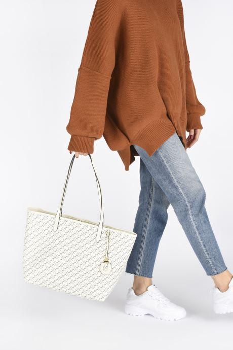 Sacs à main Lauren Ralph Lauren COLLINS 32 Blanc vue bas / vue portée sac