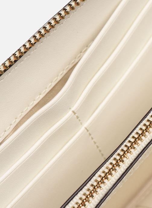 Kleine lederwaren Lauren Ralph Lauren COLLINS ZIP CONT WALLET Wit achterkant