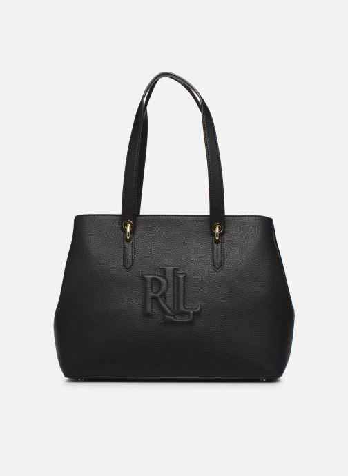 Bolsos de mano Lauren Ralph Lauren HIGHFIELD 36 TOTE ZIP Negro vista de detalle / par