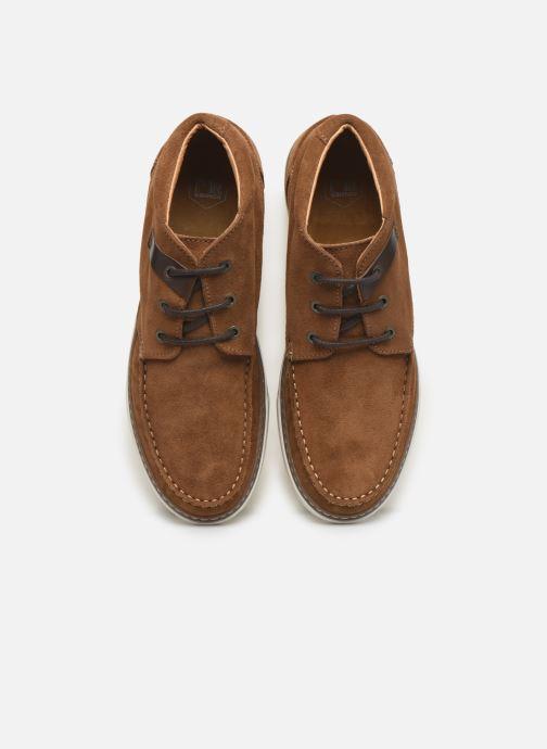 Bottines et boots Mr SARENZA Silvani Marron vue portées chaussures