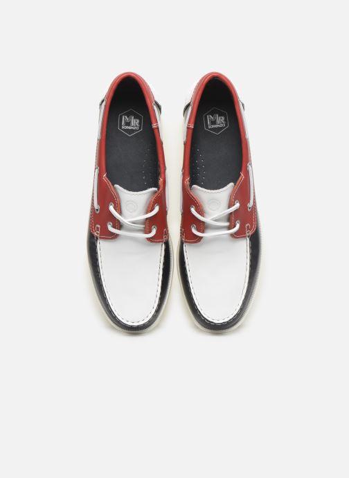 Scarpe con lacci Mr SARENZA Slovo Rosso modello indossato