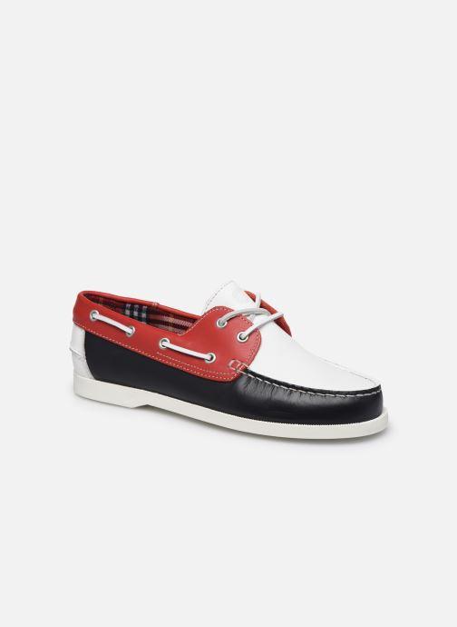 Zapatos con cordones Mr SARENZA Slovo Rojo vista lateral derecha