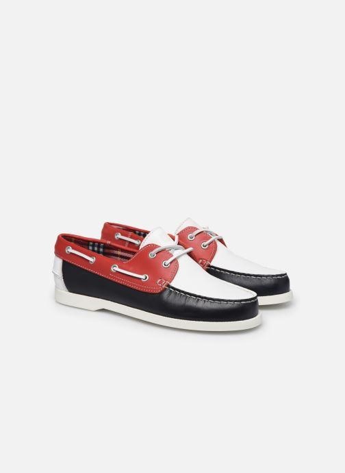 Zapatos con cordones Mr SARENZA Slovo Rojo vistra trasera