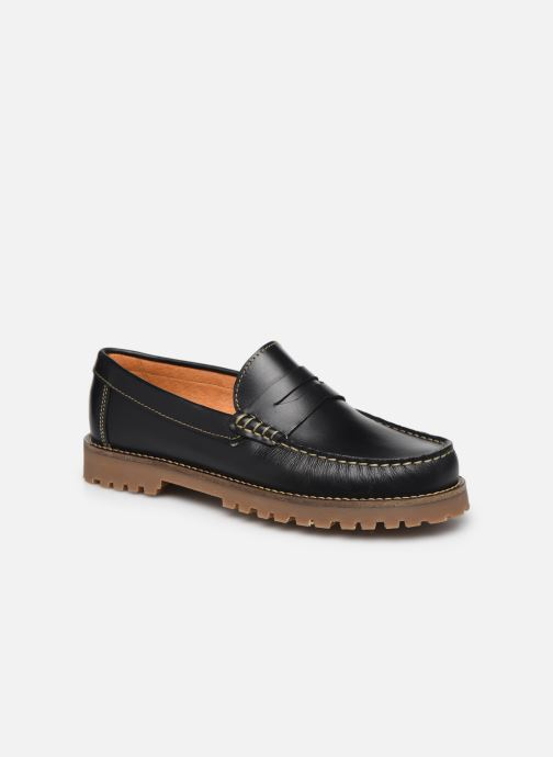 Mocasines Mr SARENZA Stormo Negro vista lateral derecha