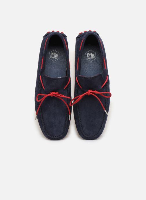 Mocassins Mr SARENZA Stavy Bleu vue portées chaussures