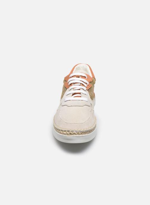 Sneaker Canal St Martin BESLAY beige schuhe getragen