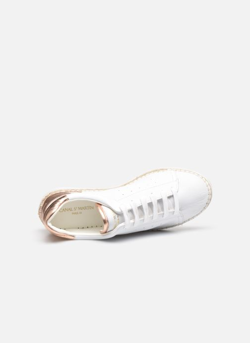 Sneakers Canal St Martin LANCRY Bianco immagine sinistra