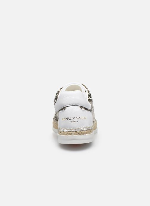 Sneakers Canal St Martin LANCRY Bianco immagine destra