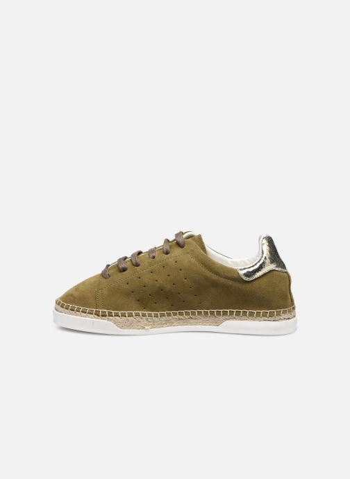 Sneakers Canal St Martin LANCRY Verde immagine frontale