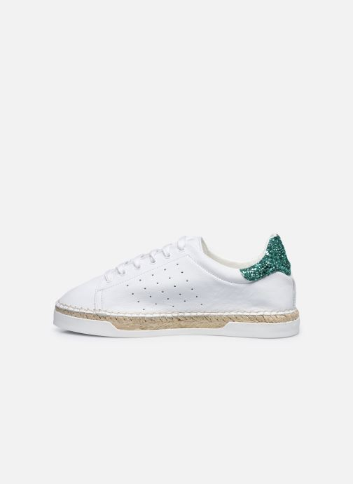 Sneakers Canal St Martin LANCRY Hvid se forfra