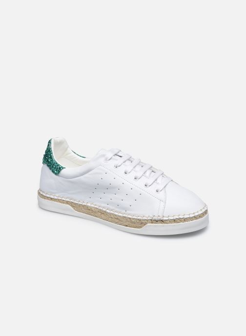 Sneakers Canal St Martin LANCRY Hvid detaljeret billede af skoene