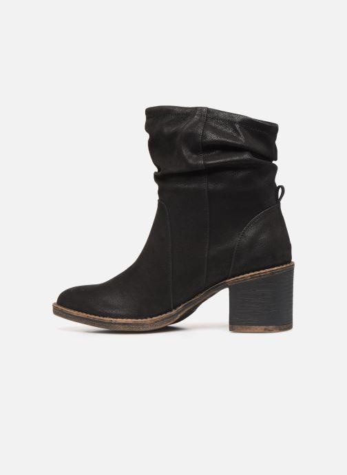 Boots en enkellaarsjes Bullboxer 271507F6S Zwart voorkant