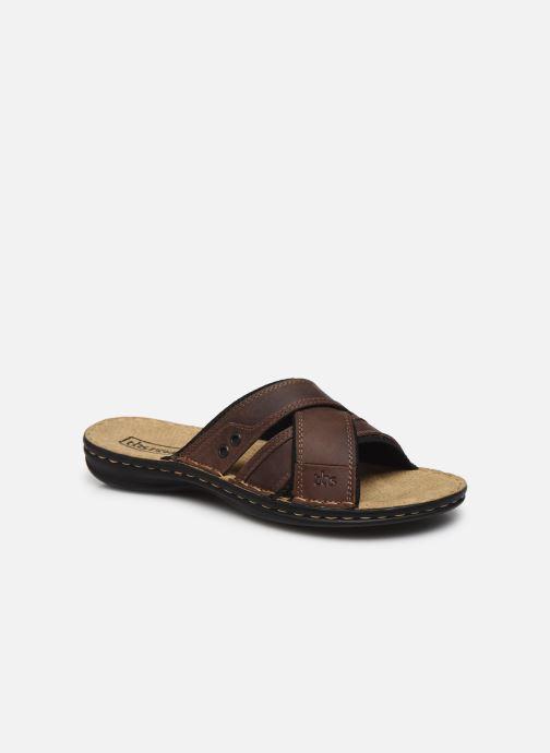 Sandales et nu-pieds TBS BENAIX Marron vue détail/paire