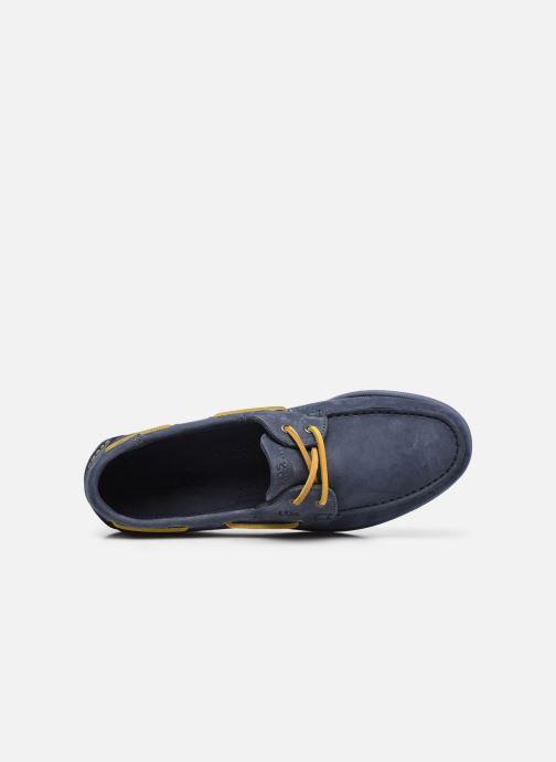Zapatos con cordones TBS PHENIS Azul vista lateral izquierda