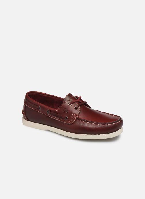 Chaussures à lacets TBS PHENIS Rouge vue détail/paire