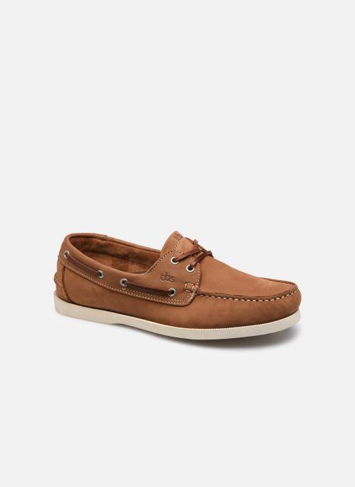 Zapatos con cordones TBS PHENIS Beige vista de detalle / par