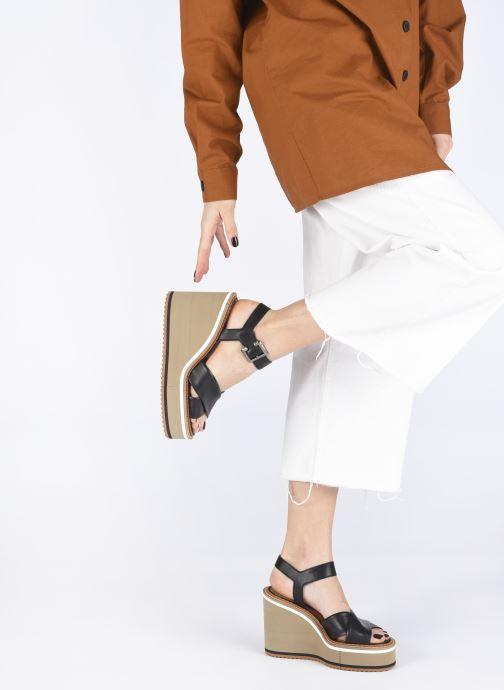Sandali e scarpe aperte Clergerie NOEMIE Nero immagine dal basso