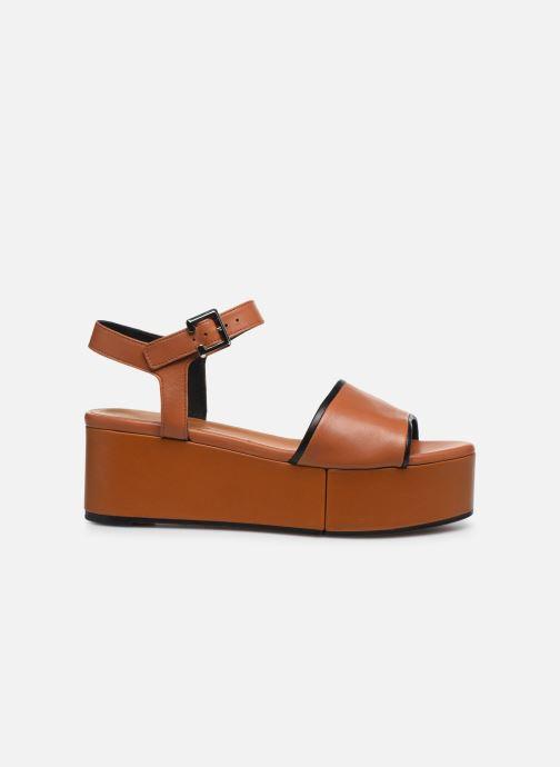 Sandali e scarpe aperte Clergerie MONI Marrone immagine posteriore