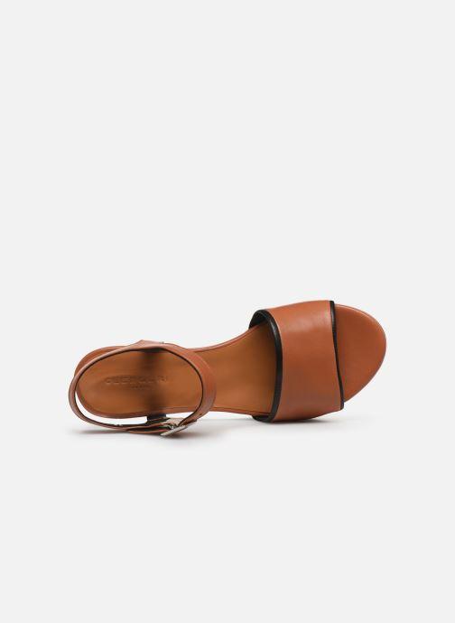 Sandali e scarpe aperte Clergerie MONI Marrone immagine sinistra