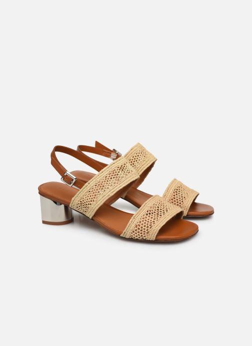 Sandales et nu-pieds Clergerie LEANE Beige vue 3/4