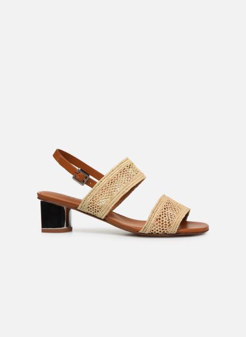 Sandales et nu-pieds Clergerie LEANE Beige vue derrière