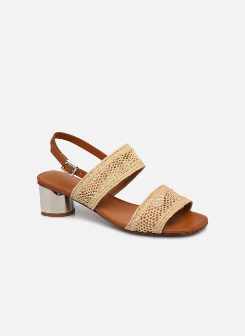 Sandales et nu-pieds Clergerie LEANE Beige vue détail/paire