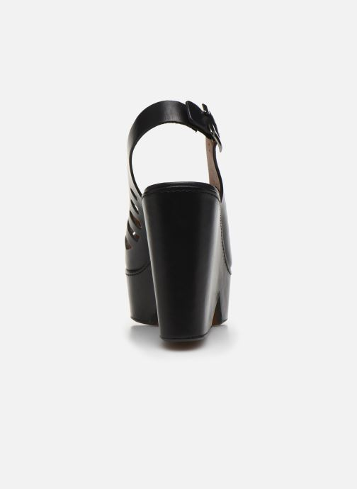 Sandali e scarpe aperte Clergerie DIANE Nero immagine destra