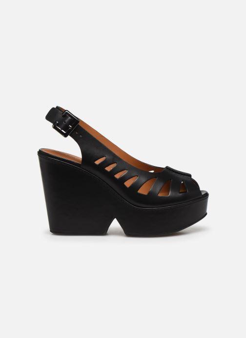 Sandali e scarpe aperte Clergerie DIANE Nero immagine posteriore