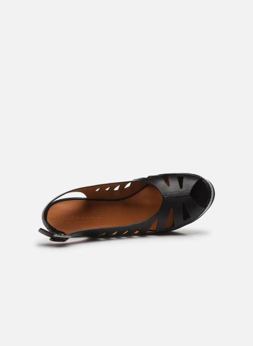 Sandali e scarpe aperte Clergerie DIANE Nero immagine sinistra