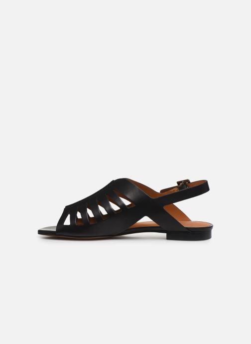 Sandali e scarpe aperte Clergerie ISAURA Nero immagine frontale