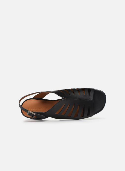 Sandali e scarpe aperte Clergerie ISAURA Nero immagine sinistra