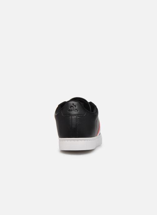 Sneakers Le Coq Sportif Courtflag Nero immagine destra