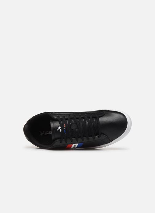 Sneakers Le Coq Sportif Courtflag Nero immagine sinistra