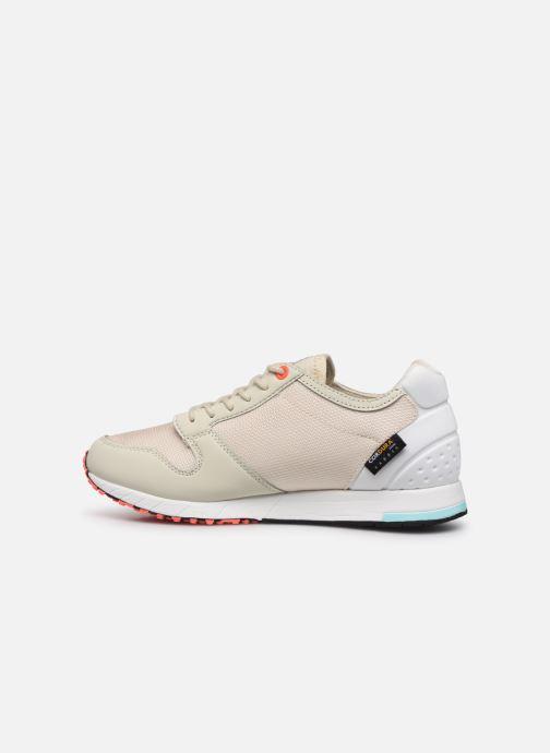 Sneaker Le Coq Sportif Jazy X W Tech weiß ansicht von vorne