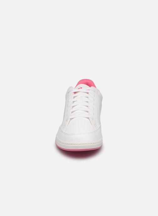 Baskets Le Coq Sportif Matchpoint Gs Sport Blanc vue portées chaussures