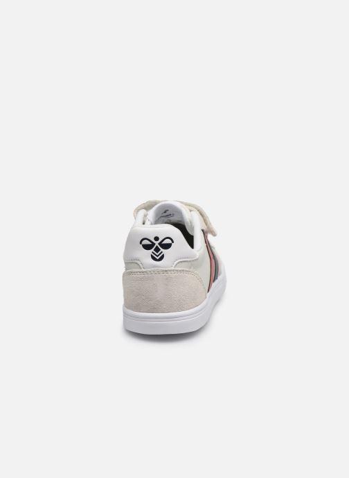 Sneakers Hummel Slimmer Stadil Leather Low Jr Bianco immagine destra