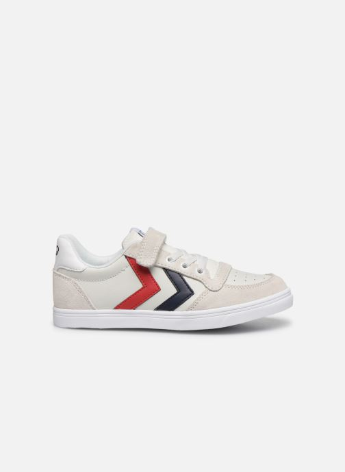 Sneakers Hummel Slimmer Stadil Leather Low Jr Wit achterkant