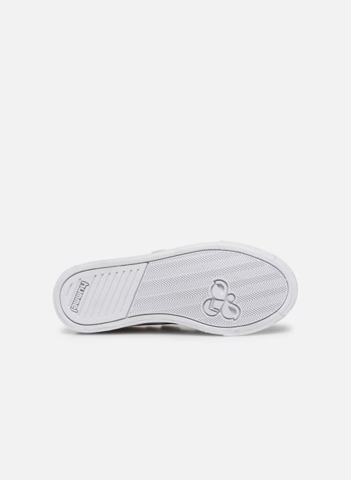 Sneakers Hummel Slimmer Stadil Leather Low Jr Wit boven