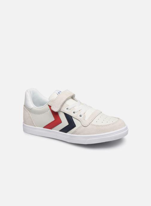 Sneakers Hummel Slimmer Stadil Leather Low Jr Wit detail