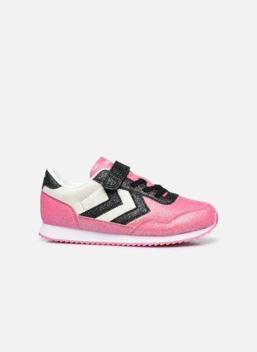 Sneaker Hummel Reflex Glitter Jr rosa ansicht von hinten