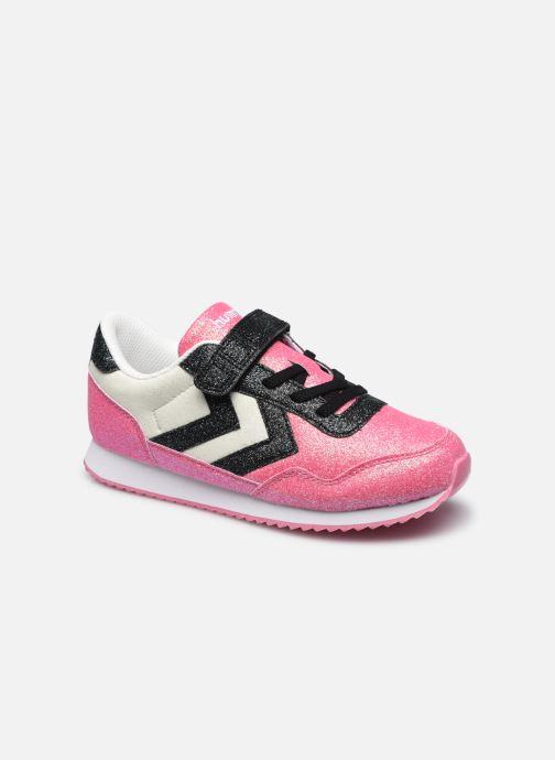 Sneaker Hummel Reflex Glitter Jr rosa detaillierte ansicht/modell