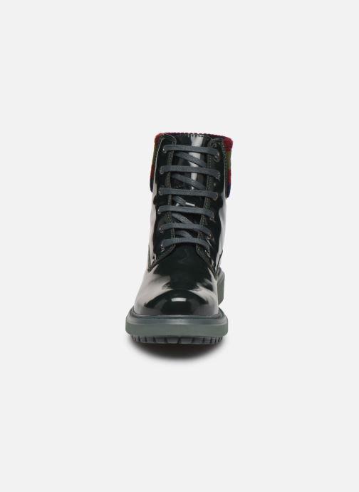Bottines et boots Geox D Asheely B D847AB Vert vue portées chaussures