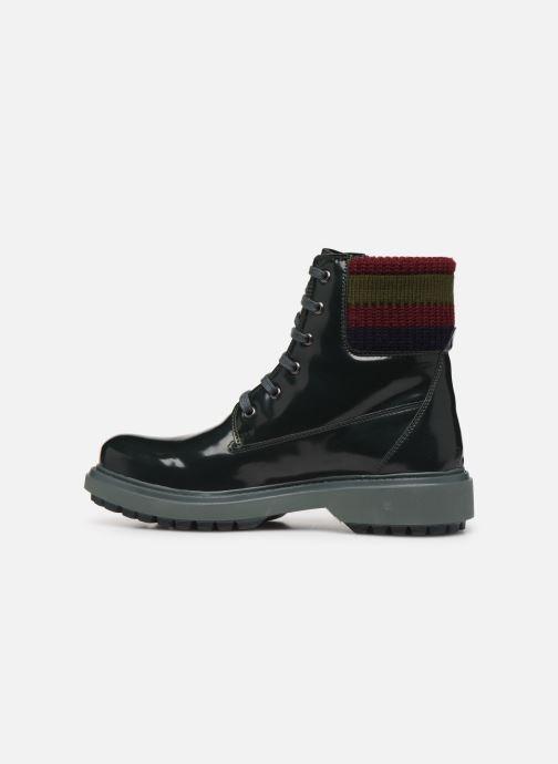 Bottines et boots Geox D Asheely B D847AB Vert vue face
