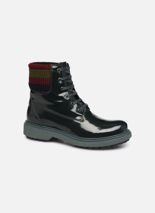Bottines et boots Geox D Asheely B D847AB Vert vue détail/paire