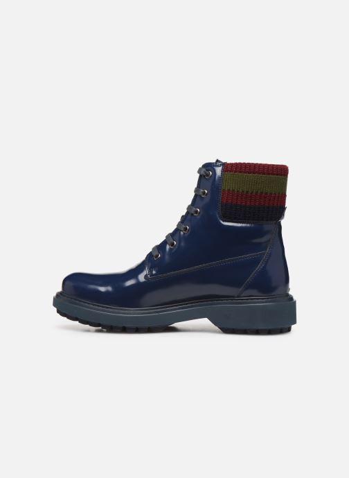 Stiefeletten & Boots Geox D Asheely B D847AB blau ansicht von vorne
